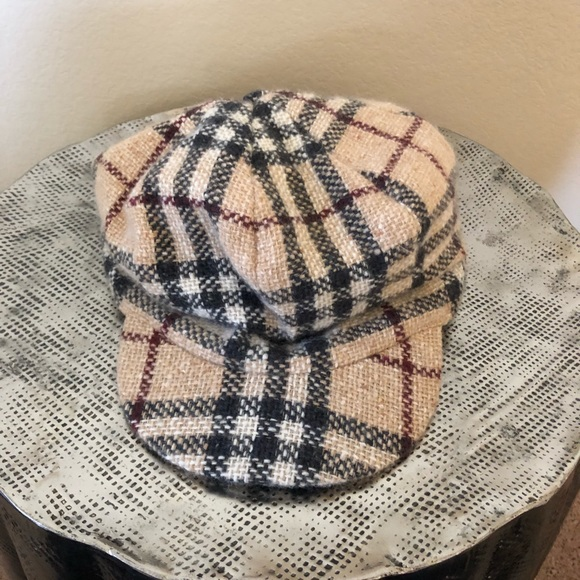 Burberry Signature Plaid Hat c6419a837e6